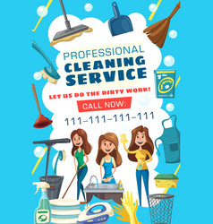 Washing cleaning laundry cooking service vector
