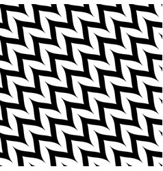 Zigzag diagonal chevron seamless pattern curved vector