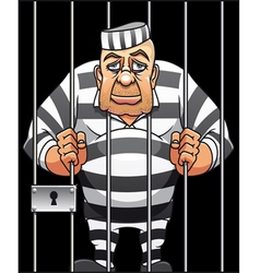 captured prisoner vector image vector image