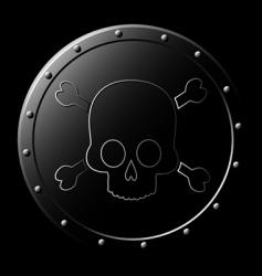 skull graphics vector image vector image