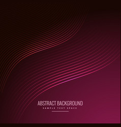 abstract background with curve lines vector image