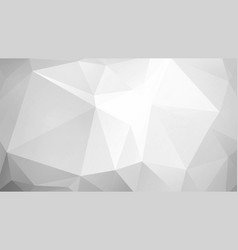 abstract low poly gray background vector image