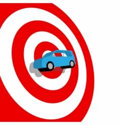 auto shopping vector image