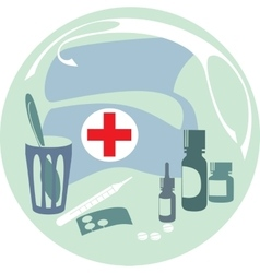 Firstaid set vector