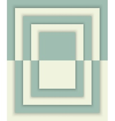 Geometric rectangles background with drop shadows vector image