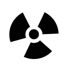 ionizing radiation icon idesign vector image