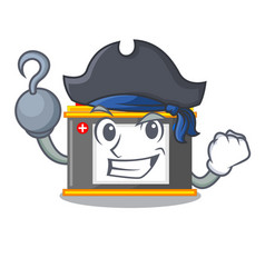 Pirate accomulator in the a character shape vector