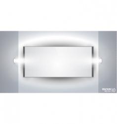 showroom panel vector image