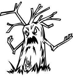 Tree - halloween set vector