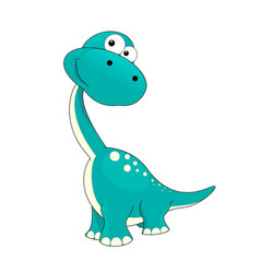 little dinosaur vector image vector image