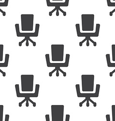 Office chair seamless pattern vector image vector image