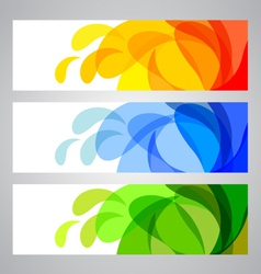 Summer and Spring Banners vector image vector image