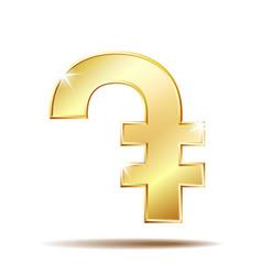 Armenian dram currency symbol vector
