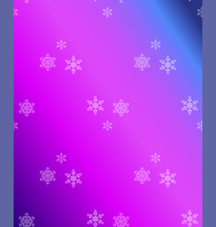 christmas abstract background of snowflakes vector image