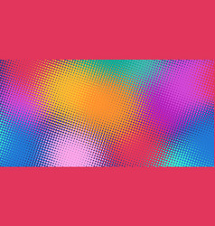 colorful blur background vector image