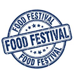 Food festival vector