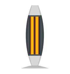 Indoor heater icon flat style vector