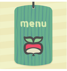 outline radish icon modern infographic logo vector image