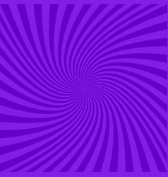 purple abstract spiral design background vector image