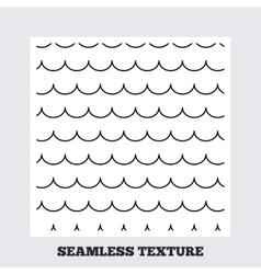 Waves stripped geometric seamless pattern vector