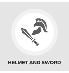 History flat icon vector image