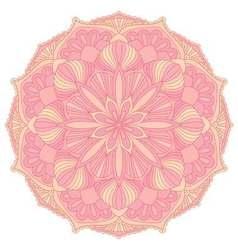 Mandala Oriental decorative elementIslam Arabic vector image vector image