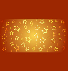 abstract background from 3d stars on gradient vector image
