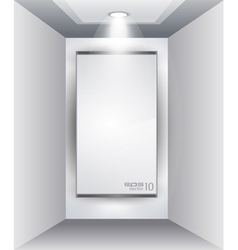 led spotlights vector image
