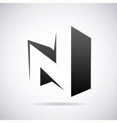 Logo for letter N Design template vector