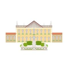Parliament Lisbon Building Portuguese Famous vector image