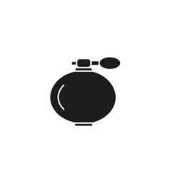 perfume black icon vector image