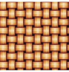 Seamless Wicker Texture vector