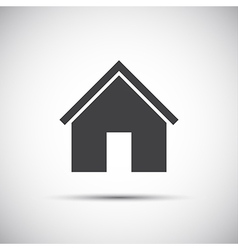 Simple home icon for your web design vector