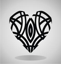 Tribal Heart Tattoo vector