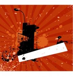 high builging vector image vector image