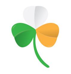 irish clover icon vector image