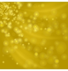 Abstract Yellow Light Background vector