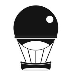 Aerostat balloon icon simple style vector