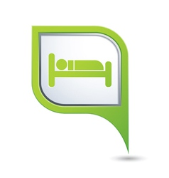 Bed GREENpointer vector