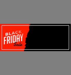Black friday sale web poster for online ad vector