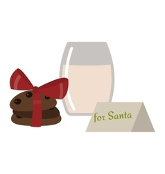 Christmas cookie isolated icon vector