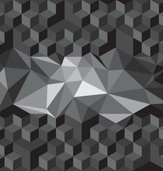 cube seamless pattern vector image