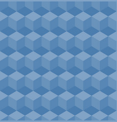 geometric pattern cube seamless pattern vector image