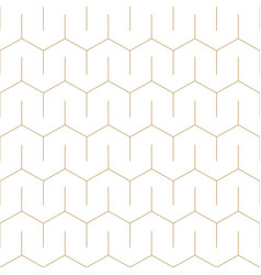 minimalistic seamless outline pattern vector image