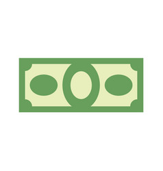 Money sign dollar symbol cash emblem financial vector