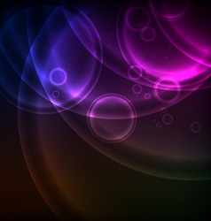 Shiny Circles Background vector image
