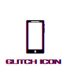 smartfon icon flat vector image