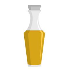 Vinegar icon flat style vector
