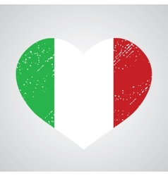 emblem of italy vector image vector image