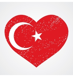 emblem of turkey vector image